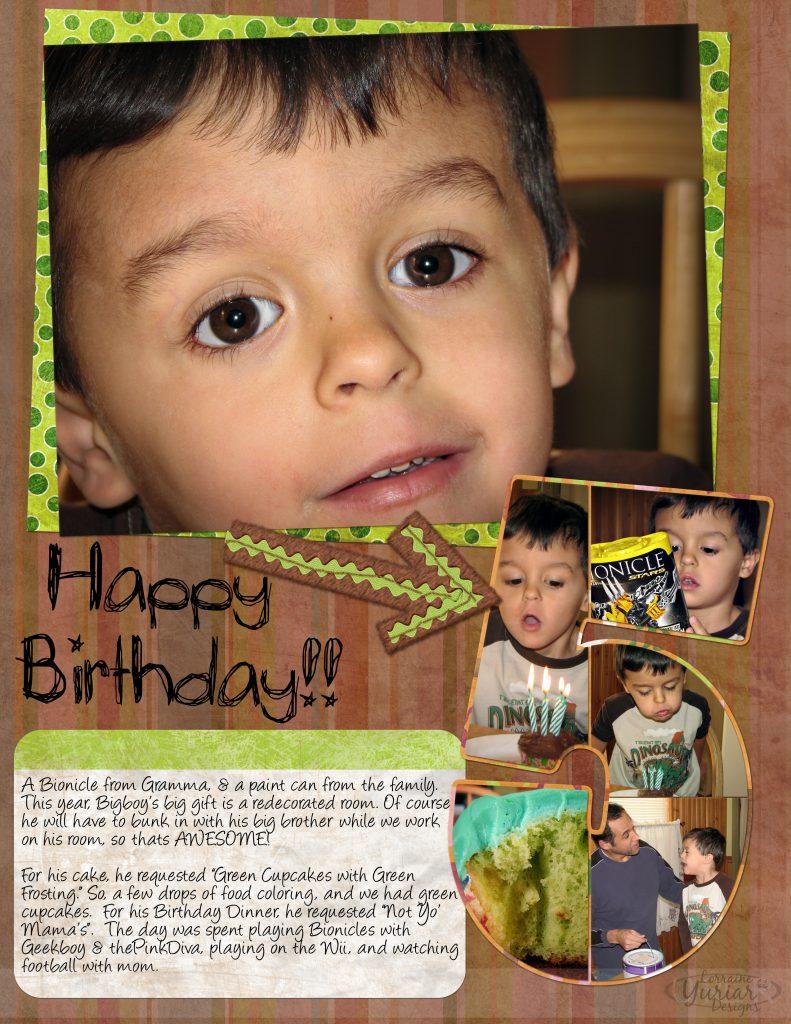 BigBoy's 5th Birthday