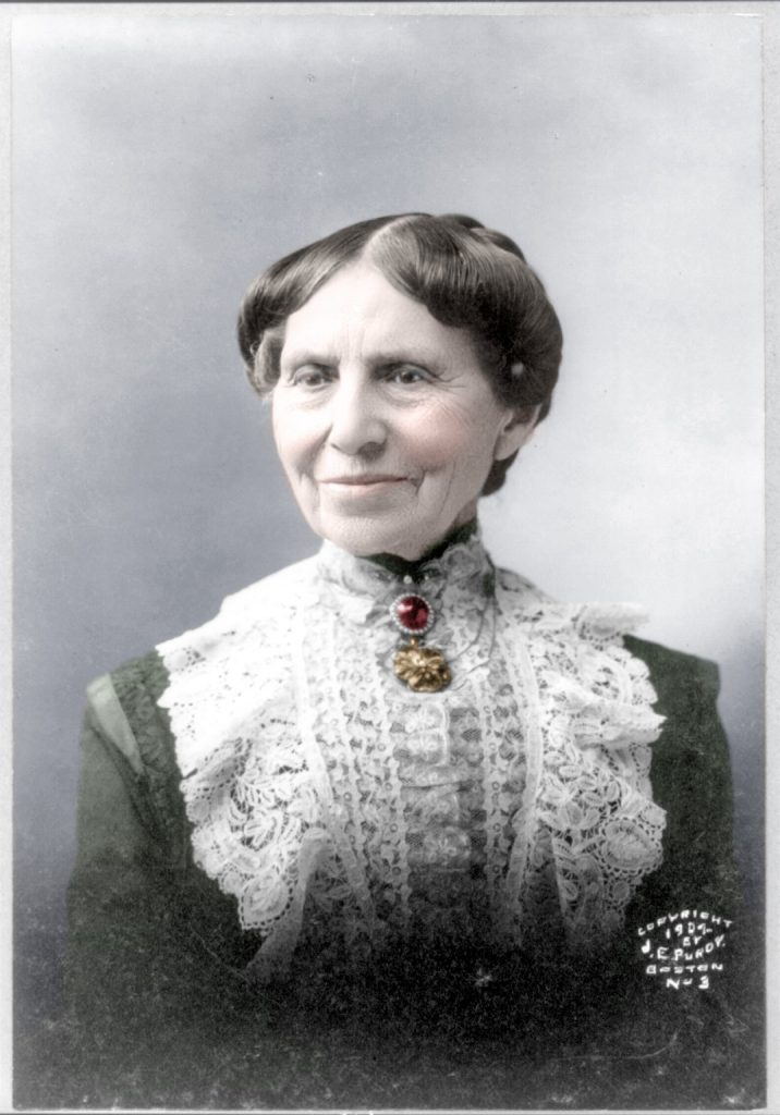 Colorized 1907 Clara Barton