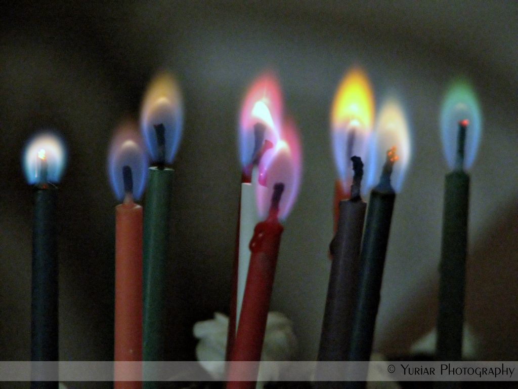 Multi-color candles