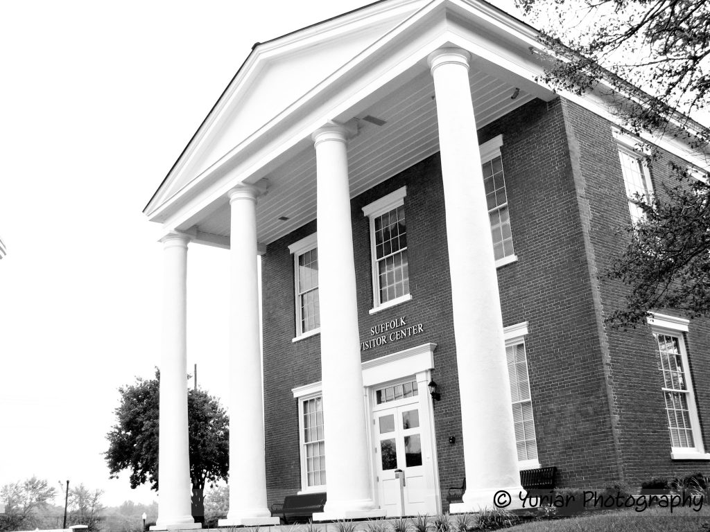 Ye Ol' Courthouse, now a visitor's center