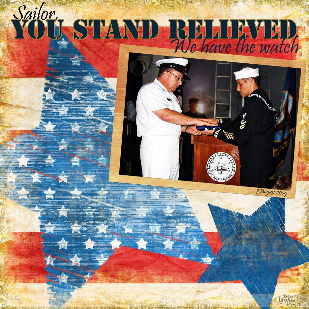You Stand Relieved